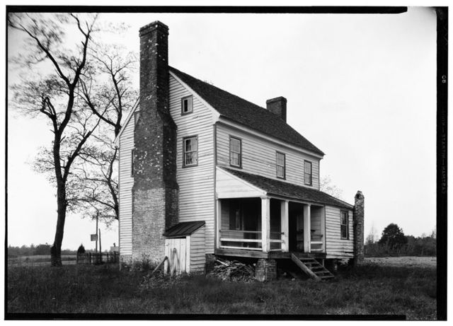Mooklar House, State Routes 604 & 30, Mangohick, King William County, VA