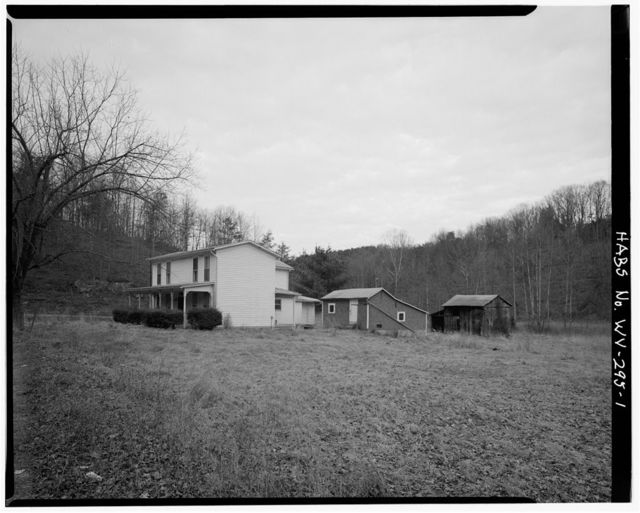 Moore Homestead, 0.1 mile south of intersection of State Route 16 & Stewart's Run Road, Harrisville, Ritchie County, WV