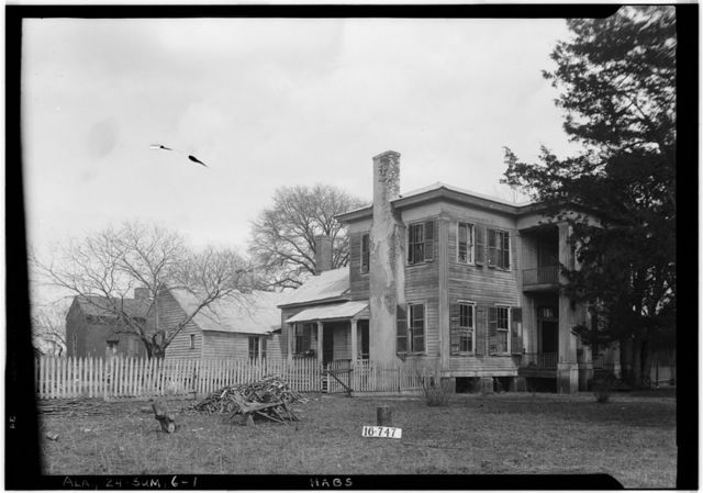 Moore House, Persimmon Street, Summerfield, Dallas County, AL
