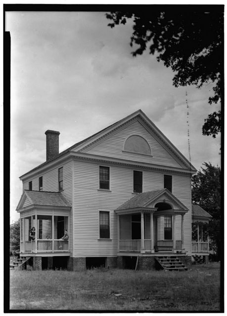 Morgan House, U.S. Route 17, South Mills, Camden County, NC