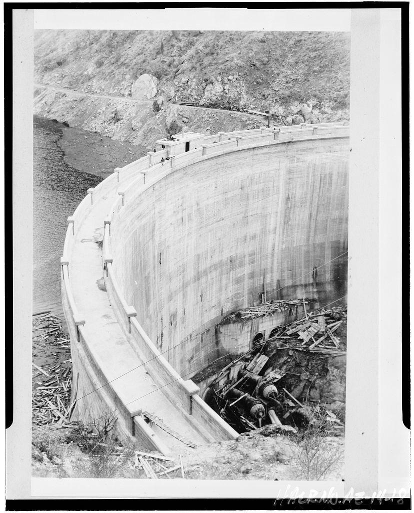 Mormon Flat Dam, On Salt River, Eastern Maricopa County, east of Phoenix, Phoenix, Maricopa County, AZ