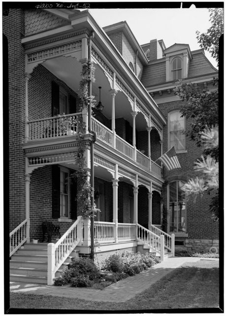 Morris-Butler House, 1204 North Park Avenue, Indianapolis, Marion County, IN