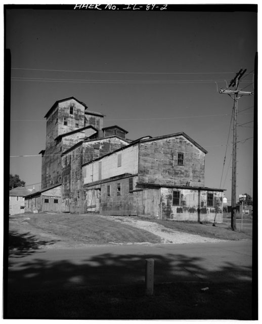 Morris Grain Company Elevator, Adjacent to Rock Island Railroad, Morris, Grundy County, IL