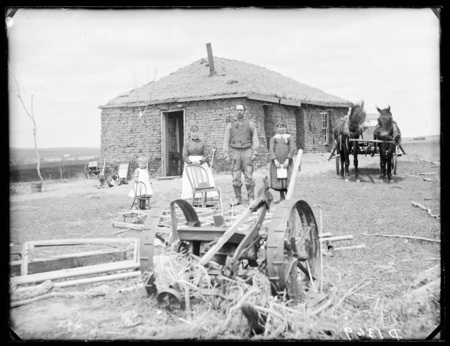 Mosby(?), northeast of Broken Bow. East Custer County, Nebraska.