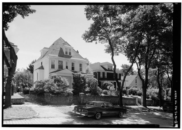 Moses & Mary Owen House, 233 Greene Street, Johnstown, Cambria County, PA