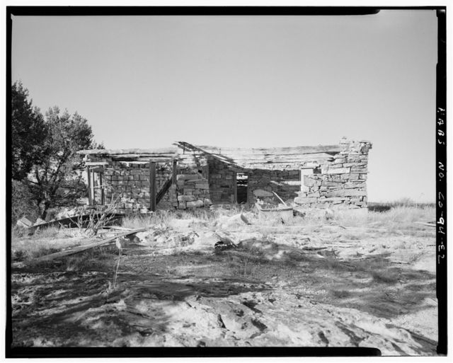 Moses B. Stevens Homestead, Residence, Approximately 160 feet northeast of wagon shed, Model, Las Animas County, CO