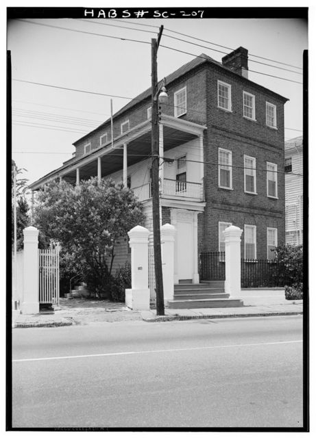 Moses C. Levy House, 301 East Bay Street, Charleston, Charleston County, SC