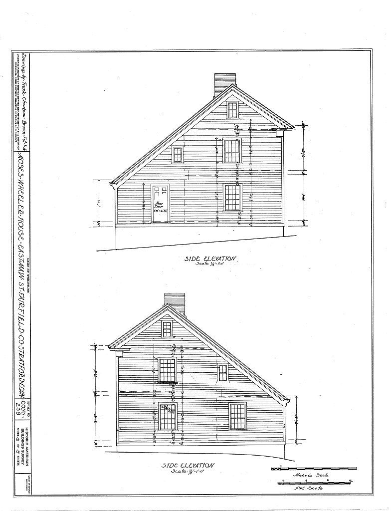 Moses-Wheeler House, East Main Street, Stratford, Fairfield County, CT