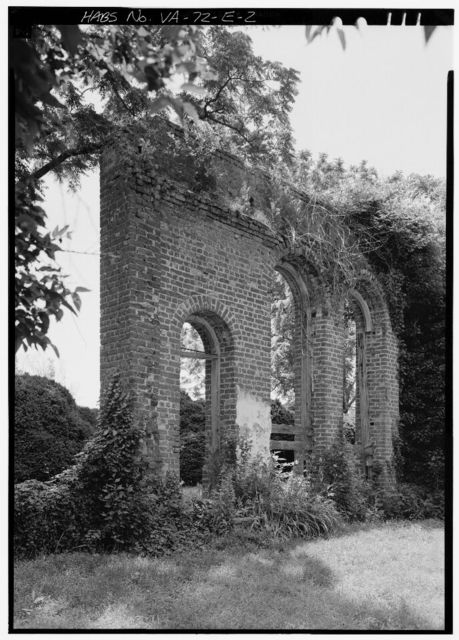 Mount Airy, Orangery (Ruins), State Route 646 vicinity, Warsaw, Richmond, VA