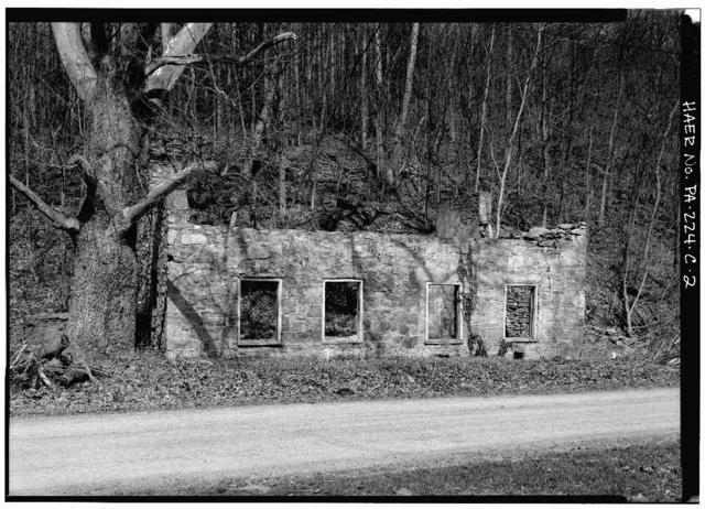 Mount Etna Iron Works, Blacksmith Shop, East of U.S. Route 22 on T.R. 463, Williamsburg, Blair County, PA
