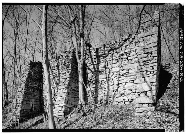Mount Etna Iron Works, Charcoal House, East of U.S. Route 22 on T.R. 463, Williamsburg, Blair County, PA