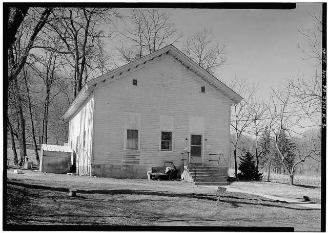 Mount Etna Iron Works, Church, East of U.S. Route 22 on T.R. 463, Williamsburg, Blair County, PA