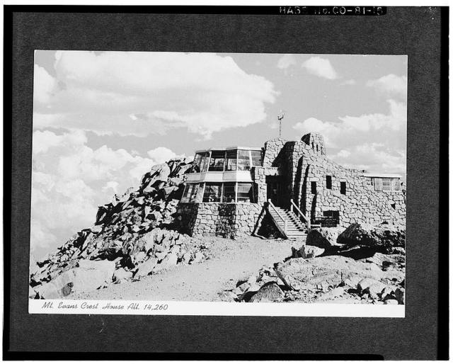 Mount Evans Crest House, State Route 5, Mount Evans summit, Arapaho National Forest, Idaho Springs, Clear Creek County, CO