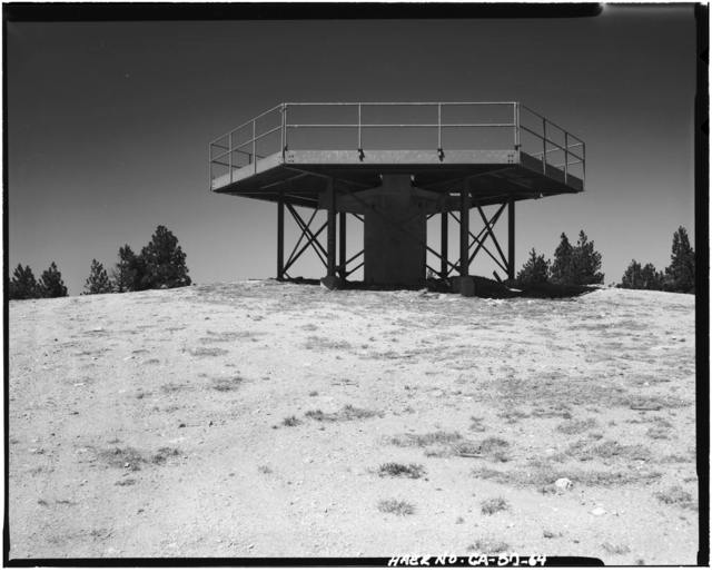 Mount Gleason Nike Missile Site, Angeles National Forest, South of Soledad Canyon, Sylmar, Los Angeles County, CA