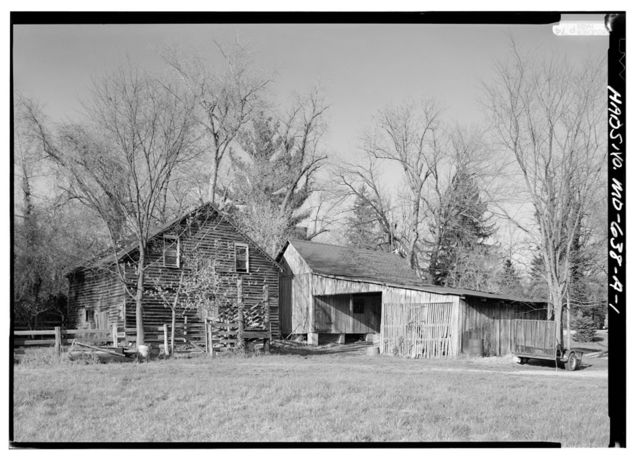 Mount Lubentia, Corn Crib & Stable, Largo, Prince George's County, MD