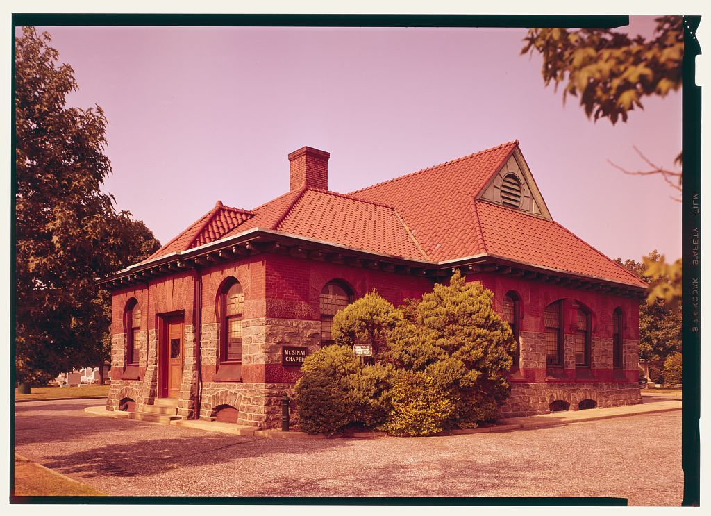 Mount Sinai Cemetery, Chapel, Bridge & Cottage Streets, Philadelphia, Philadelphia County, PA