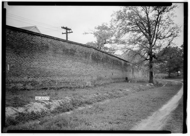 Mount Vernon Arsenal, Inner Wall, Old Saint Stephens Road (County Road 96), Mount Vernon, Mobile County, AL