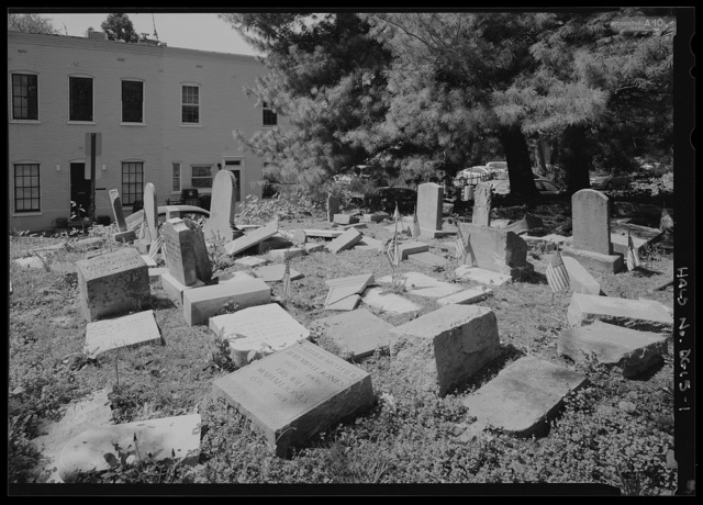 Mount Zion Cemetery/ Female Union Band Cemetery, Bounded by 27th Street right-of-way N.W. (formerly Lyons Mill Road), Q Street N.W., & Mill Road N.W., Washington, District of Columbia, DC