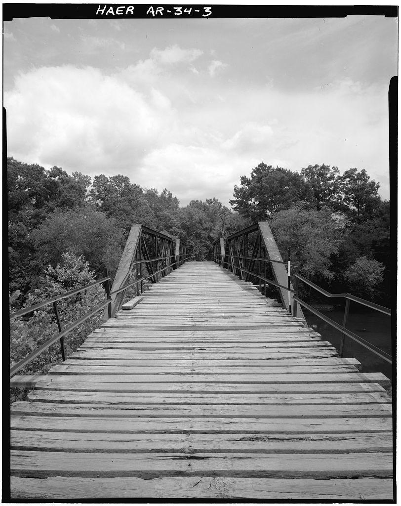 Mountain Fork Bridge, Spanning Mountain Fork Creek at County Road 38, Hatfield, Polk County, AR