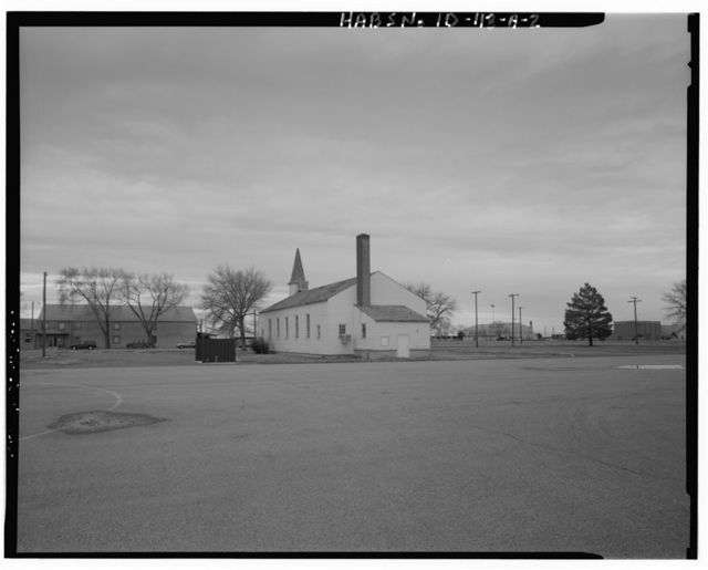 Mountain Home Air Force Base, Base Chapel, 350 Willow Street, Cantonment Area, Mountain Home, Elmore County, ID