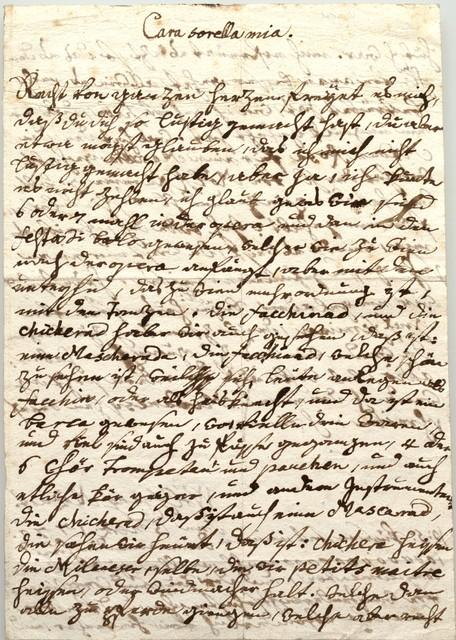 Mozart letters