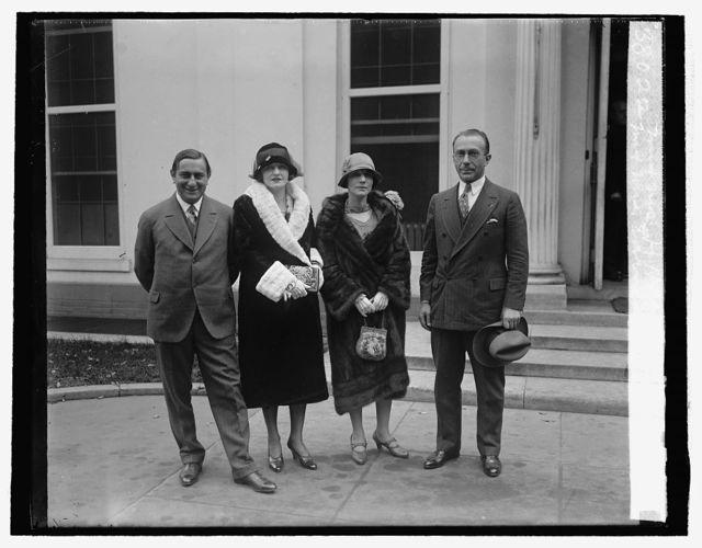 Mr. & Mrs. Earnest Lubritscht Mr. & Mrs. H.M. Warner, 10/19/25