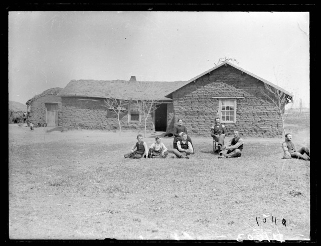 Mr. Young, near Gates, northwest Custer County, Nebraska.