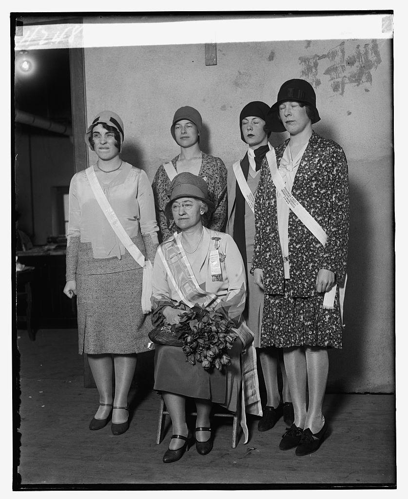 Mrs. Alfred J. Brosseau, 4/16/29