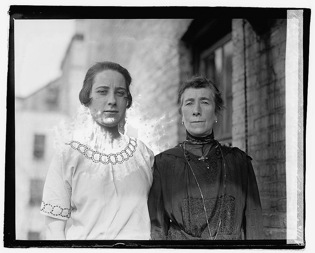 Mrs. Amelia McLudden & Katherine McC, 11/8/21