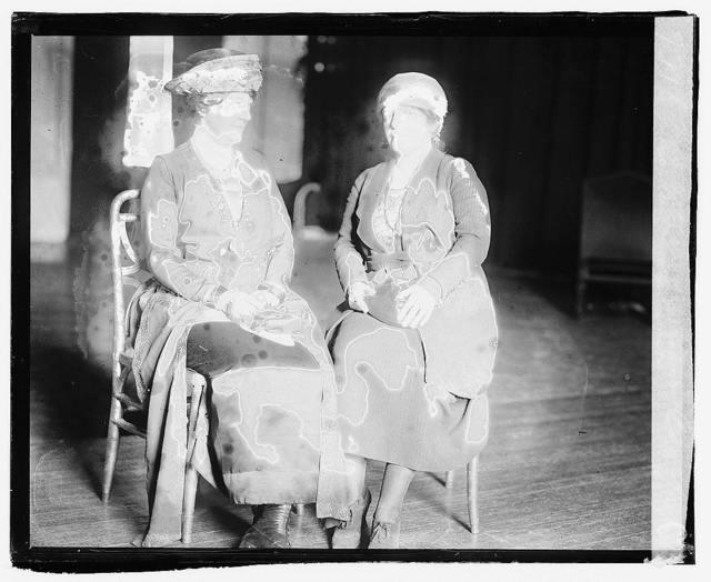 Mrs. Arthur Liverman, Mrs. Antoinette Funk, 2/20/20