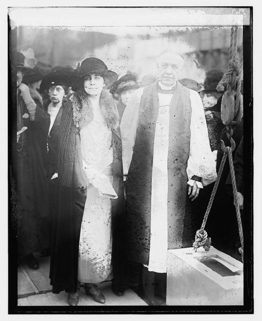Mrs. Coolidge & Bishop Freeman, 10/29/23