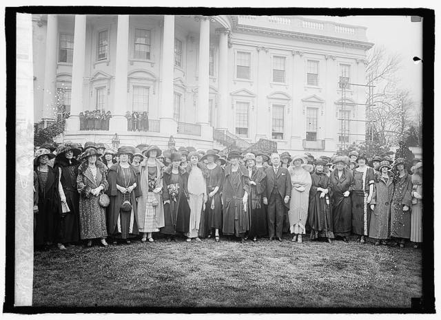 Mrs. Coolidge & members of Pi Beta Phi, 4/11/24