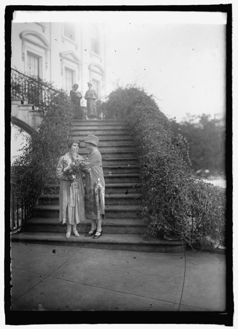 Mrs. Coolidge & Miss Helen Keller, 1/12/26