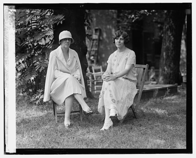 Mrs. Dudley, Field Malone, and Miss Alice Paul, 7/23/25