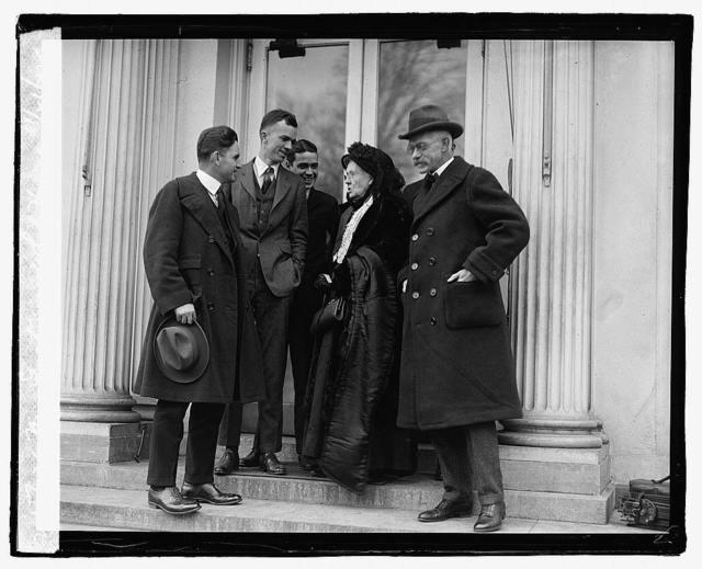 Mrs. Felton at White House, 11/21/22