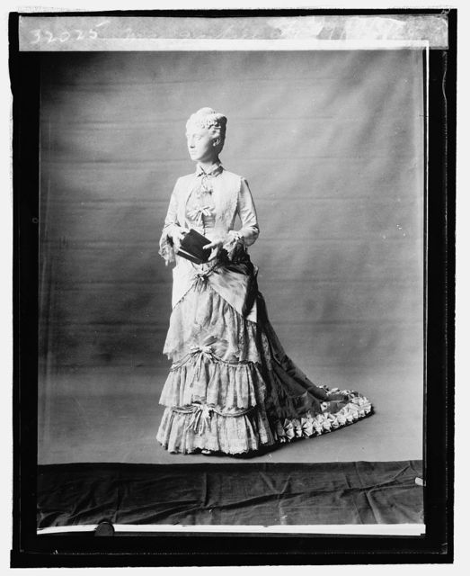 Mrs. Garfield [inaugural dress from First Ladies Collection], 9/3/24