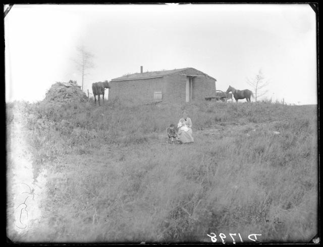 Mrs. Gilbert, 3 miles east of Anselmo, Nebraska.
