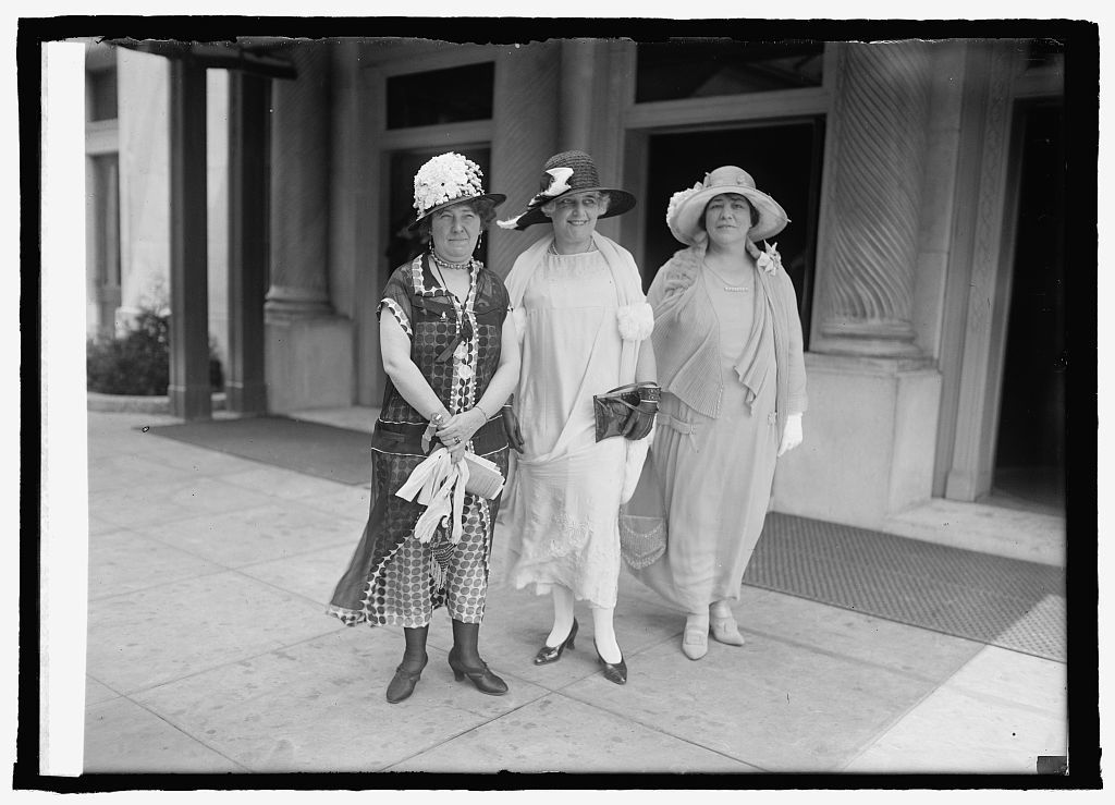 Mrs. H.A. Colman, Mrs. C.E. Holmes, & Mrs. C.M. Busch, 4/25/25