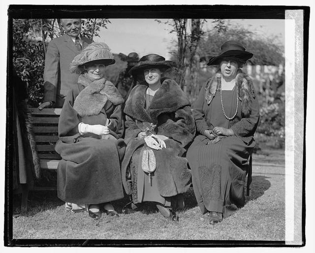 Mrs. Hughes, Lady Geddes, Mrs. Wallace, 10/24/22