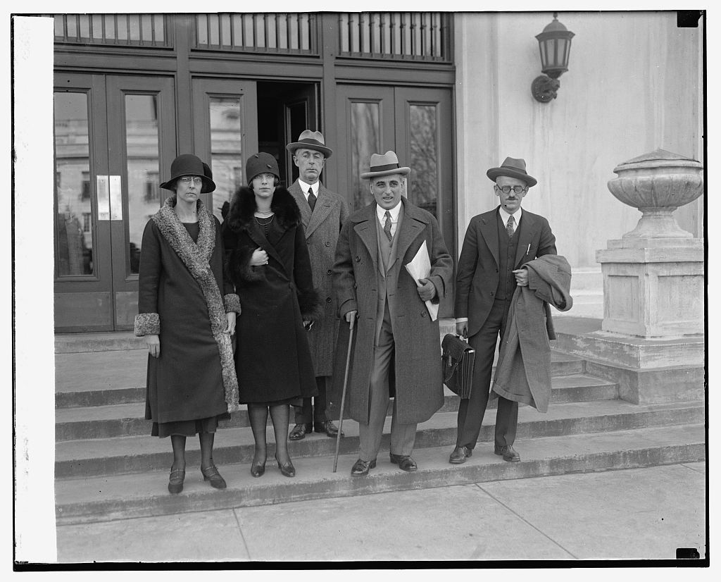 Mrs. Lansdowne with attorneys and Dr. & Mrs. Mason, 11/17/25