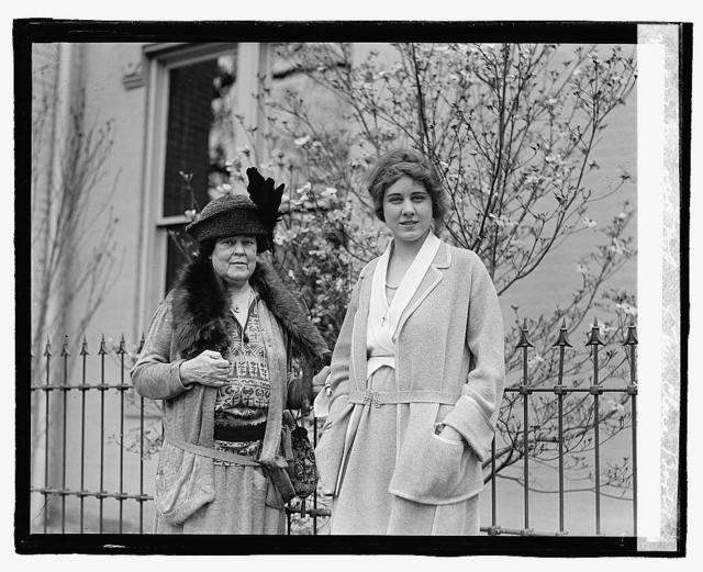 Mrs. O.H.P. Belmont & Miss Clara Boothe, 4/28/23