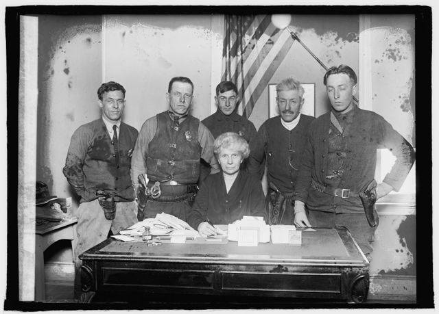 Mrs. R.D. Morris and deputies of Prince George County, Md., 1/23/26
