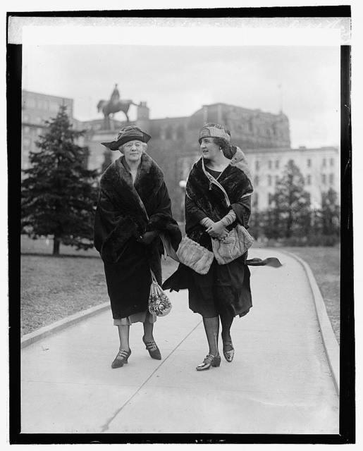 Mrs. W.M. Calder, Miss Marian Calder, 2/23/22