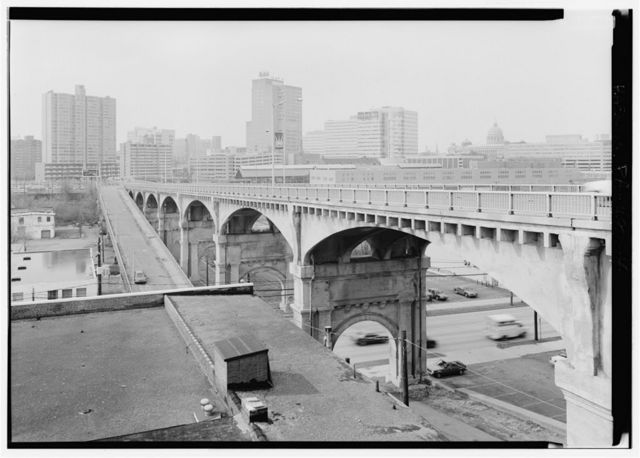 Mulberry Street Viaduct, Spanning Paxton Creek & Cameron Street (State Route 230) at Mulberry Street (State Route 3012), Harrisburg, Dauphin County, PA