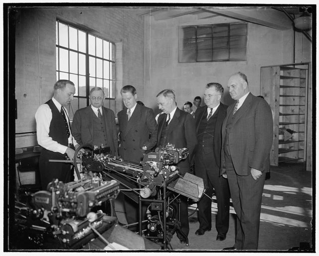 Multi[...] Industrial Business Machines, 11/24/37