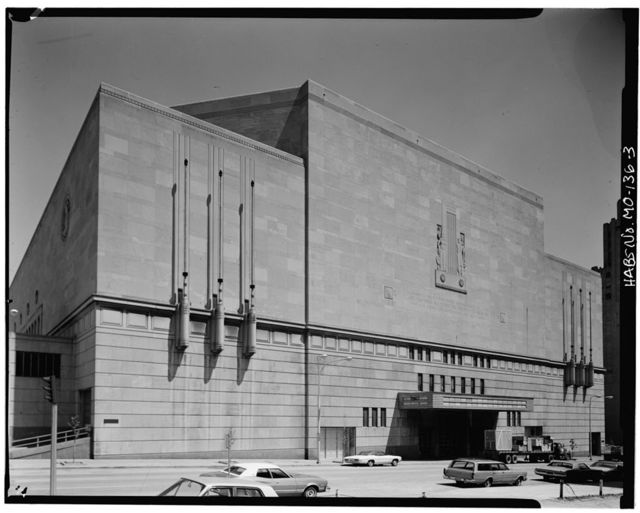 Municipal Auditorium, 1310 Wyandotte Street, Kansas City, Jackson County, MO