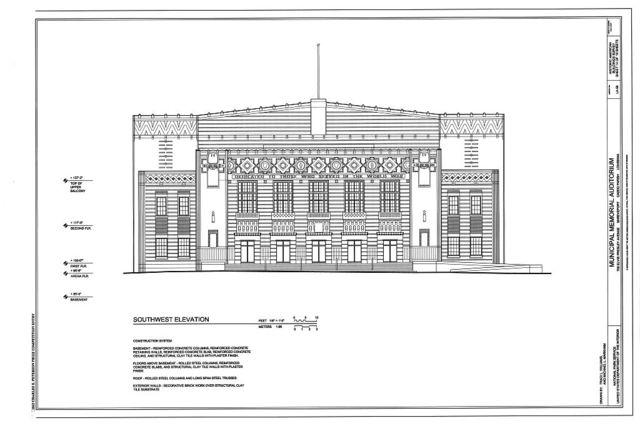 Municipal Memorial Auditorium, 705 Elvis Presley Avenue, Shreveport, Caddo Parish, LA