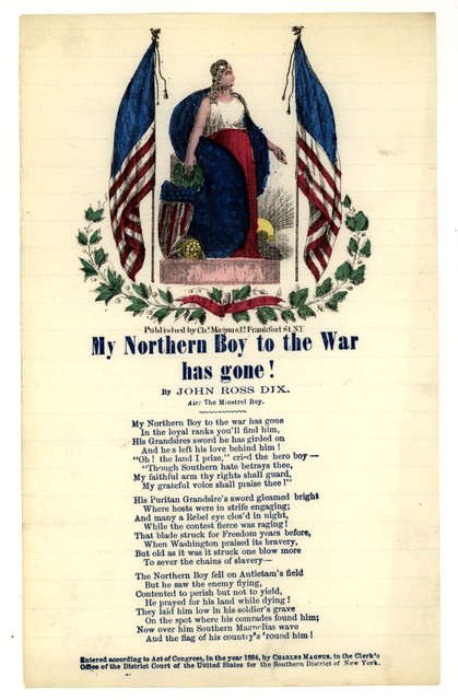 My Northern boy to the war has gone! By John Ross Dix