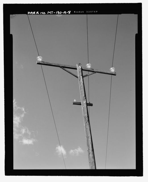 Mystic Lake Hydroelectric Facility, Electric Transmission A Line, Along West Rosebud Creek, Fishtail, Stillwater County, MT