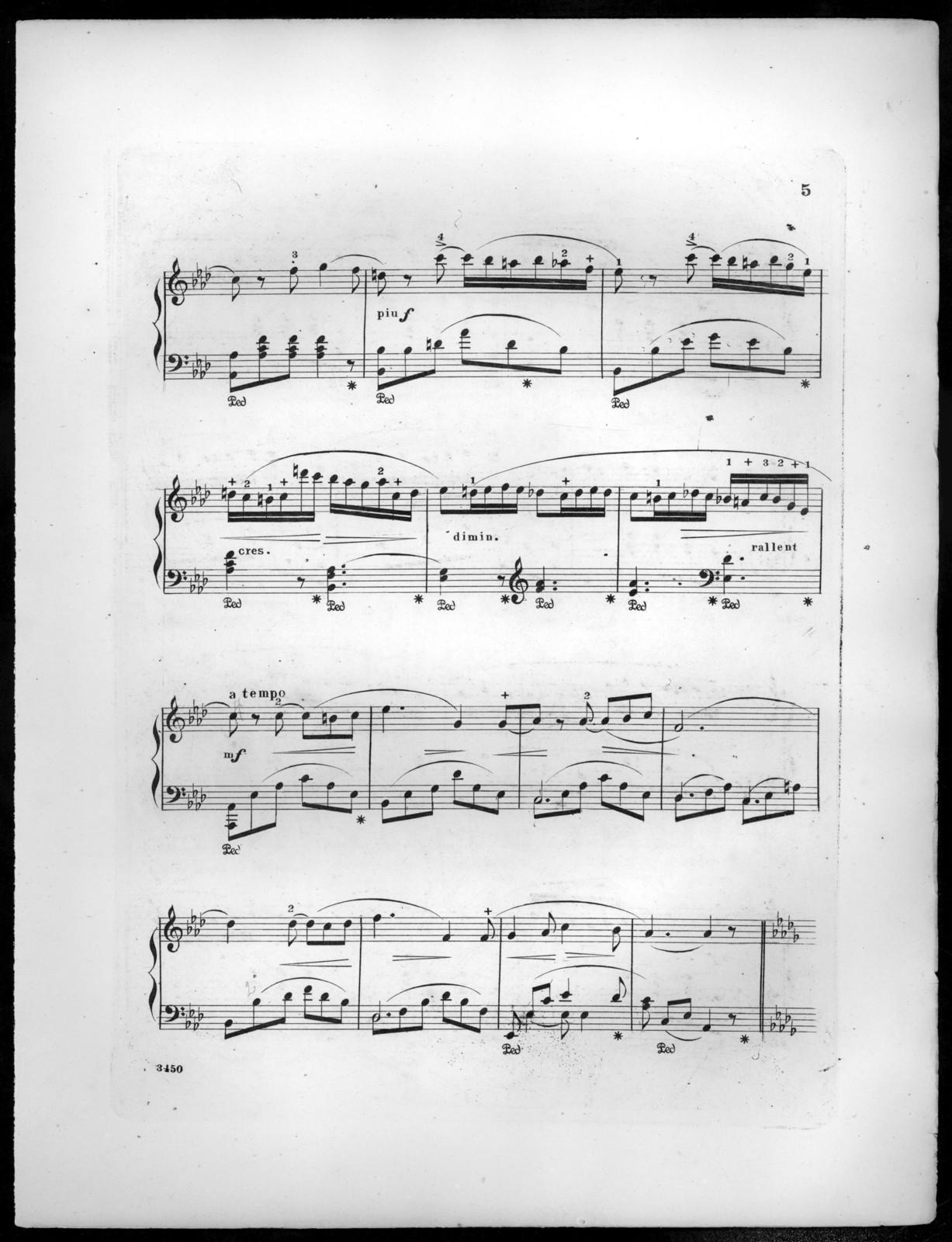 Nachklänge, op. 222